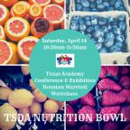 TSDA's Annual Nutrition Bowl!!