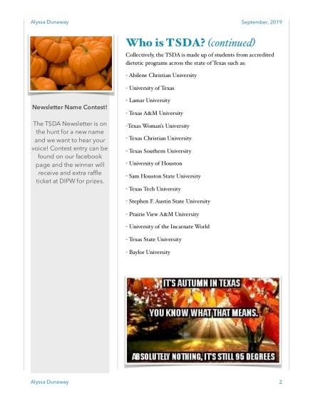 TSDA September Newsletter-1